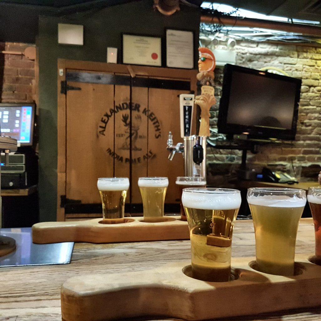 Bier at Alexander Keiths